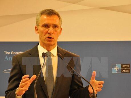 Lanh dao NATO canh bao EU khong thanh lap quan doi rieng - Anh 1