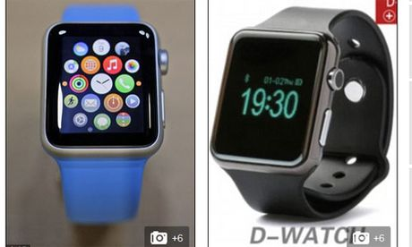 Dong ho Apple Watch co hang nhai, gia 800.000 dong - Anh 2