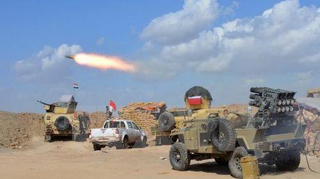 Iraq mo dot tan cong lon, quyet gianh lai Tikrit tu IS - Anh 1