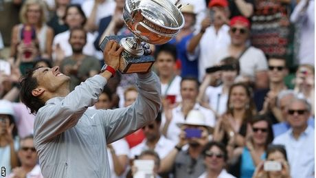 Federer: Nadal co the pha ky luc Grand Slam cua toi - Anh 2