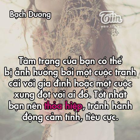 Thu tu cua ban (11/3): Co phai Song Tu dang ap u mot ke hoach kinh doanh? - Anh 1