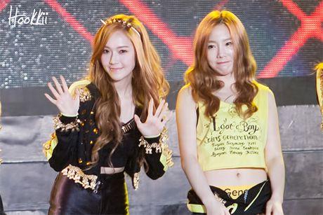 Jessica bat ngo xoa het anh SNSD tren Weibo - Anh 1