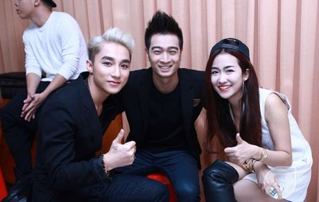 Team Son Tung M-TP he lo bai thi 'hut' trong liveshow 5 The Remix - Anh 1