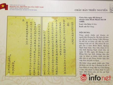 Thang 4/2015: Dua trien lam ve Truong Sa, Hoang Sa ra dao Song Tu Tay - Anh 1