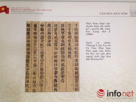 Thang 4/2015: Dua trien lam ve Truong Sa, Hoang Sa ra dao Song Tu Tay - Anh 3