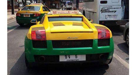 Sieu xe Lamborghini Gallardo lam taxi tai Thai Lan - Anh 2