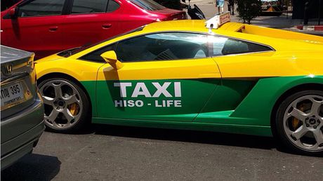 Sieu xe Lamborghini Gallardo lam taxi tai Thai Lan - Anh 3