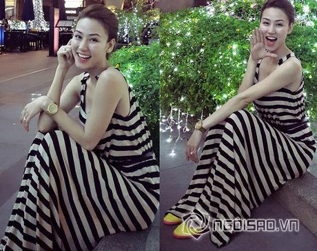 Thoi trang doi thuong 'gay sot' cua sao Viet tuan qua (P55) - Anh 14
