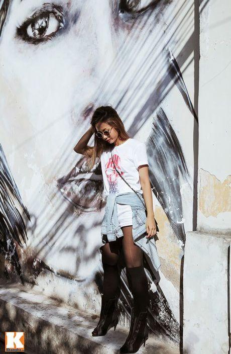 Street style bui bam cua nu rapper Suboi - Anh 1