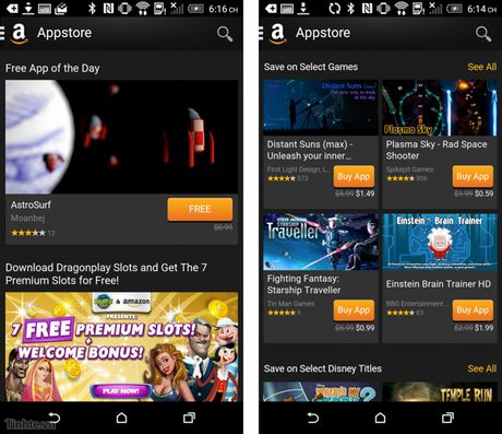 Cach cai va su dung kho ung dung Amazon Appstore - Anh 2