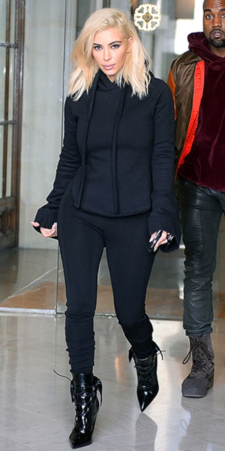 Style kho doan truoc cua Kim Kardashian tai Paris Fashion Week - Anh 3