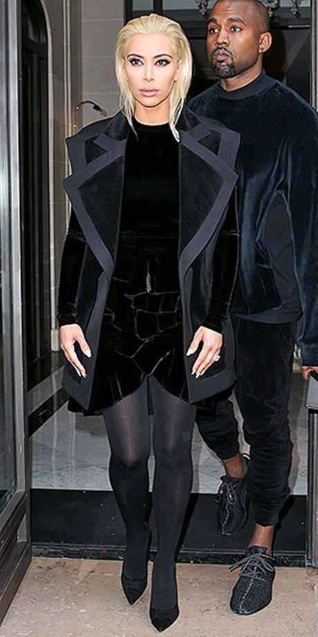 Style kho doan truoc cua Kim Kardashian tai Paris Fashion Week - Anh 5