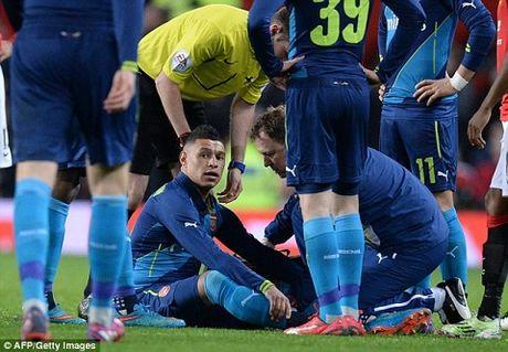 Arsenal don tin du sau tran thang Man Utd - Anh 1