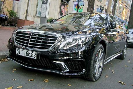 Xe sang Mercedes S63 bien dep, gia 9 ty o Sai Gon - Anh 1