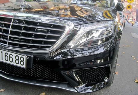 Xe sang Mercedes S63 bien dep, gia 9 ty o Sai Gon - Anh 6