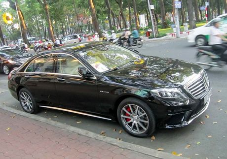 Xe sang Mercedes S63 bien dep, gia 9 ty o Sai Gon - Anh 7