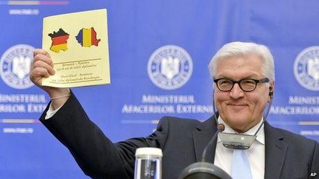 Romania be bang voi Duc vi in nham ban do - Anh 1