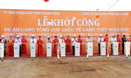 Thanh Hoa khoi cong Cang Nghi Son 6.000 ty dong - Anh 1