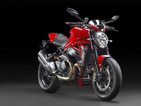 """""""Dien kien"""" Monster 1200R - naked bike manh nhat cua Ducati - Anh 1"""