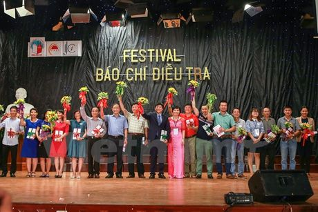 Sinh vien Bao chi hao hung voi Festival Bao chi dieu tra - Anh 1