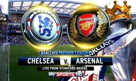 Xem truc tiep Chelsea vs Arsenal (18h45) - Anh 1