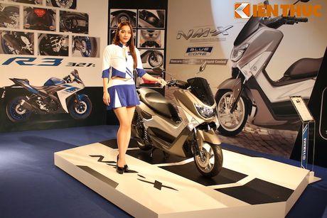 Can canh xe tay ga hang sang Yamaha NM-X tai Viet Nam - Anh 1
