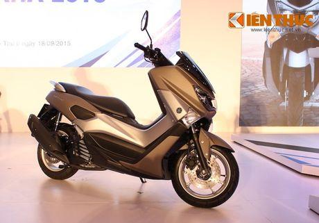 Can canh xe tay ga hang sang Yamaha NM-X tai Viet Nam - Anh 2
