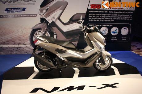 Can canh xe tay ga hang sang Yamaha NM-X tai Viet Nam - Anh 7