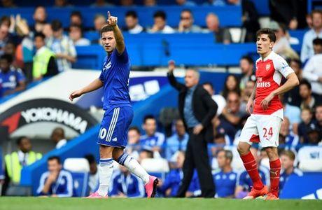 Chi con 9 nguoi, Arsenal nhan that bai tren san Chelsea - Anh 1