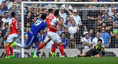 Chi con 9 nguoi, Arsenal nhan that bai tren san Chelsea - Anh 8