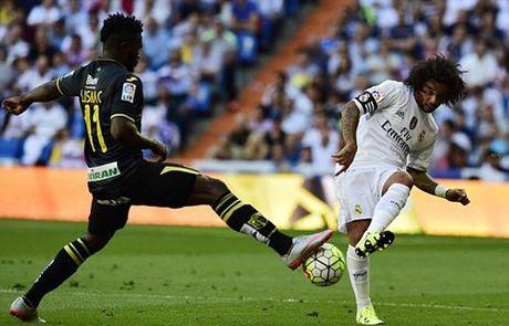 TRUC TIEP Real Madrid - Granada: Chu nha phung phi co hoi - Anh 2