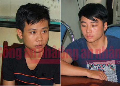 Bat 2 ke chem nha bao cua Dai PTTH Thai Nguyen giua duong - Anh 1