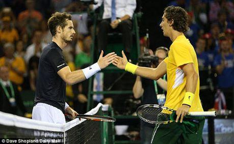 Tin HOT 19/9: Murray, Nadal toa sang o Davis Cup - Anh 1