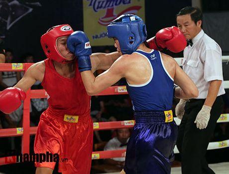 """Giai boxing Viet: Luu Thi Duyen """"chua danh da thang"""" - Anh 1"""