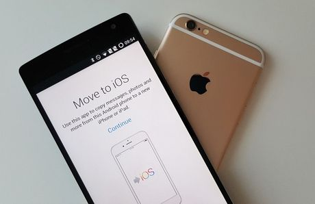 Nghi an Apple copy ung dung Android sua ten thanh Move to iOS - Anh 1