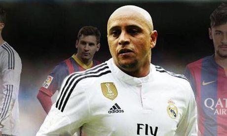 Huyen thoai Real Madrid khen Neymar xuat sac hon Messi va Ronaldo - Anh 1