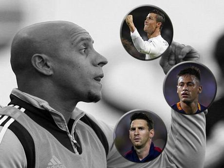 Huyen thoai Real Madrid khen Neymar xuat sac hon Messi va Ronaldo - Anh 2