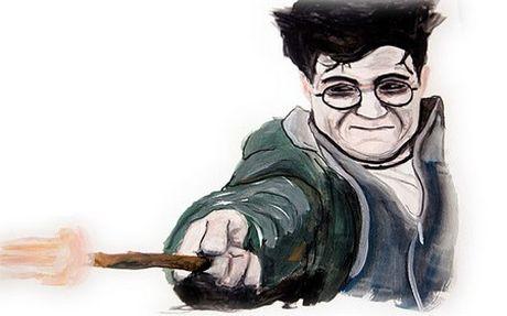 Chang trai bai liet ve tranh tuyet dep bang mieng - Anh 3