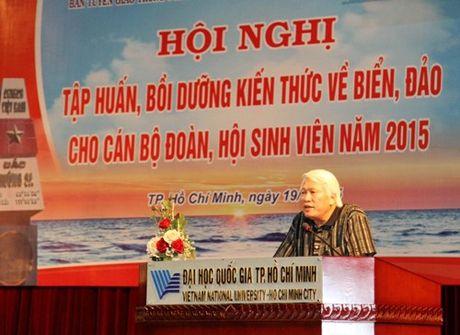 Boi duong kien thuc ve bien, dao cho can bo Doan - Hoi - Anh 1