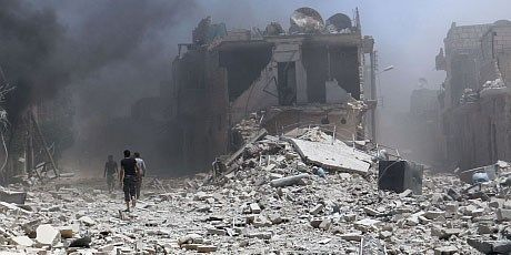 Syria tan cong IS: It nhat 26 nguoi chet - Anh 1