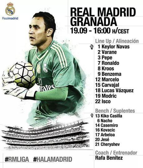 Real 1-0 Granada: Ronaldo chua the len ngoi so mot - Anh 14