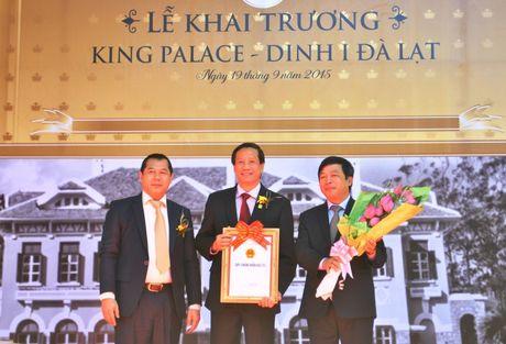 Lam Dong: Dinh I Da Lat chinh thuc dua vao phuc vu du lich - Anh 3