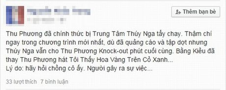 Thu Phuong tuoi cuoi giua tin don bi tay chay o hai ngoai - Anh 1