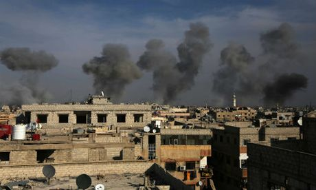 Quan doi Syria don dap khong kich khung bo o Damascus - Anh 1