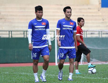 U23 Viet Nam luyen tap cang thang, tiep tuc thanh 'benh vien' - Anh 2
