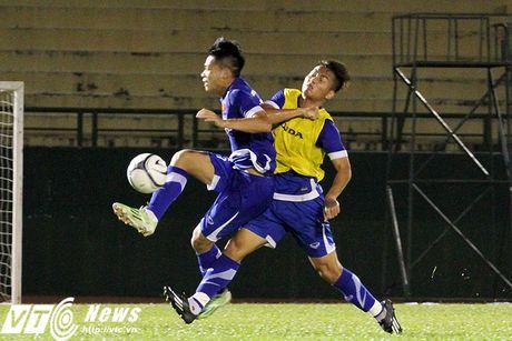 U23 Viet Nam luyen tap cang thang, tiep tuc thanh 'benh vien' - Anh 3