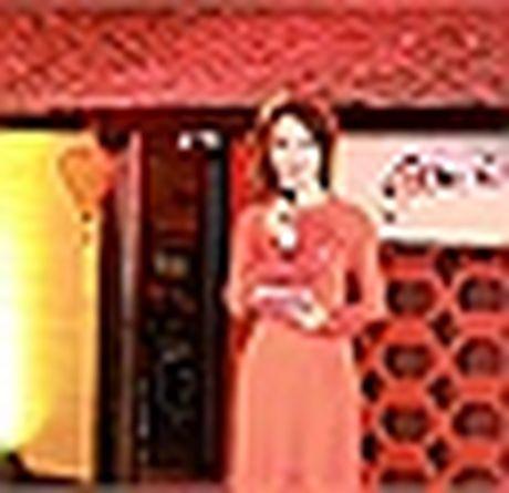 A hau Thuy Van vai tran goi cam giua troi dong Ha Noi - Anh 9