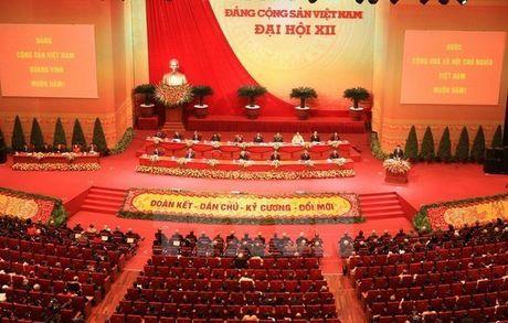 Ngay 26/1: Bau Ban Chap hanh Trung uong khoa 12 - Anh 1