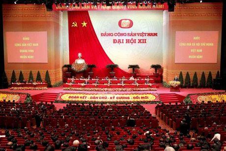 Cong bo danh sach Ban Chap hanh Trung uong khoa XII - Anh 1