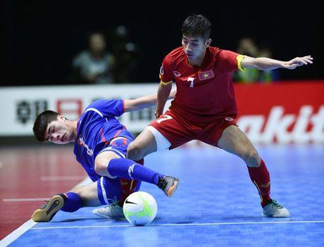 Xem truc tiep futsal Viet Nam vs Tajikistan 21h00 - Anh 1